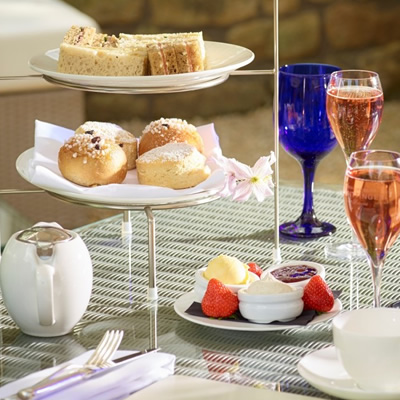 Champagne Afternoon Tea for Two at The Royal Crescent in Bath