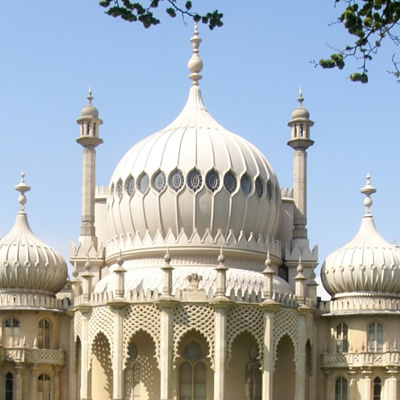 Tour of The Royal Pavilion Brighton and Cream Tea