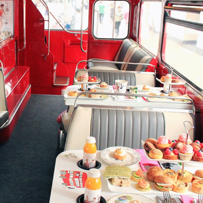 B Bakery Afternoon Tea Bus Tour for Two