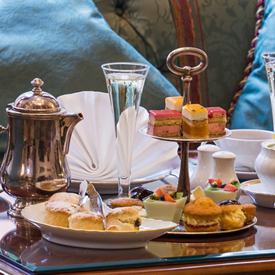 Champagne Afternoon Tea for Two at the Bentley Hotel