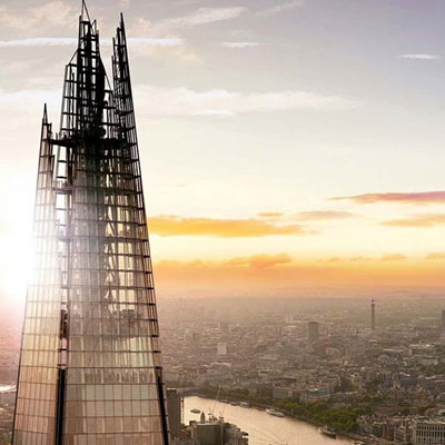 View from the Shard and Afternoon Tea for Two