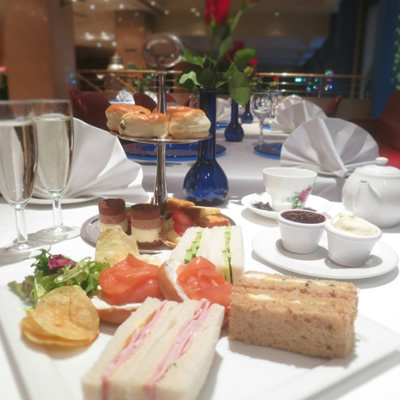 Champagne Afternoon Tea for Two at Washington Mayfair