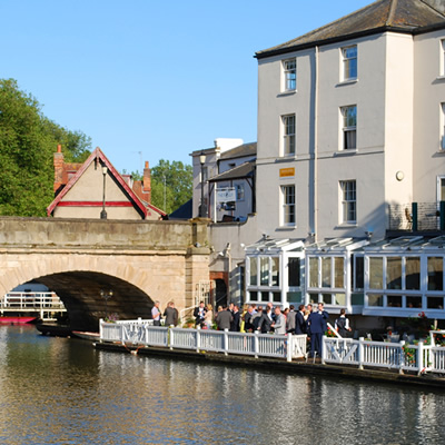 Afternoon Tea Cruise for Two in Oxford