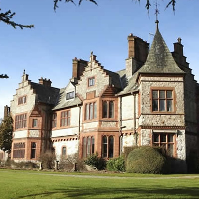 Afternoon Tea for Two at Caer Rhun Hall